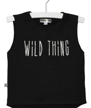 SCOM Black Wild Thing Muscle Tee