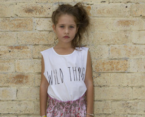SCOM White Wild Thing Muscle Tee