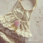 Gold Dot Sunsuit 1
