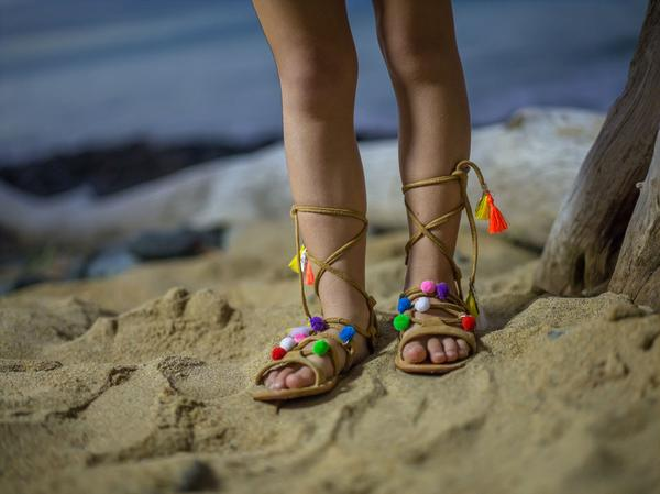 Tully & The Chief - Festival Sandals Tan