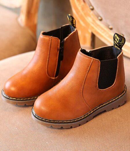 Boys Tan Boots'