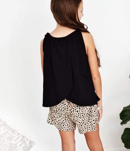 Butterfly Top Black