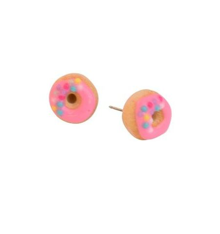 Donut Earrings 1