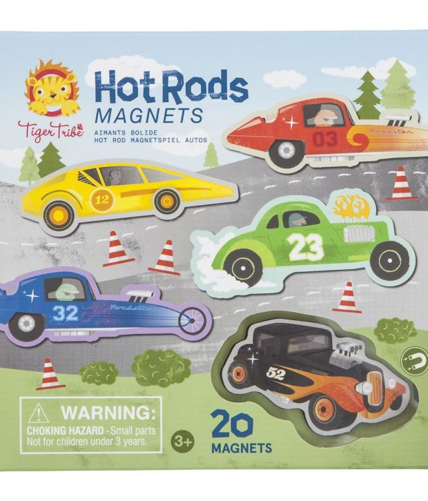 Hot Rods Magnets 1