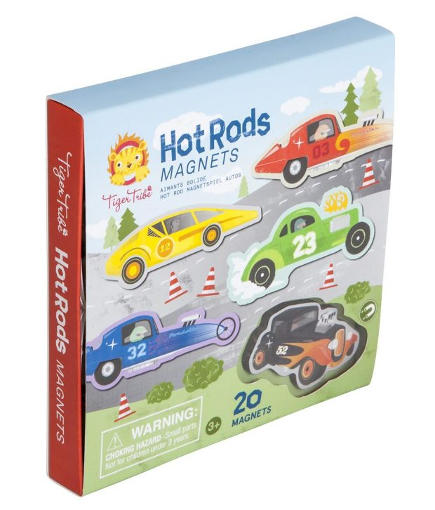 Hot Rods Magnets 2