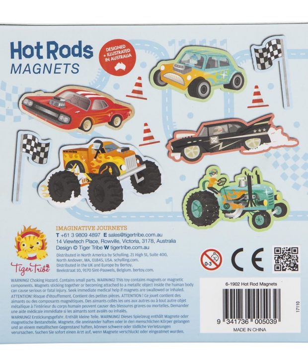 Hot Rods Magnets 4