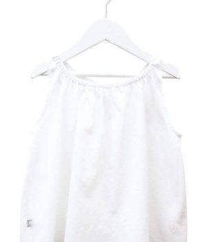 White Butterfly Top