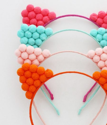 curious wonderland pompom cat ears