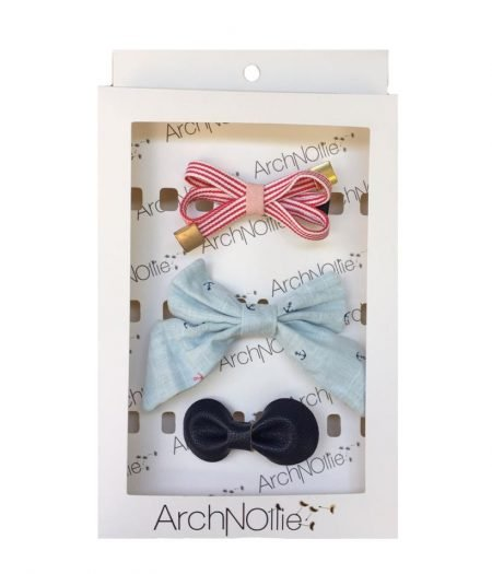 E17-NBPEN01_Nautical_pack_bow_clip_navy_girl_newborn