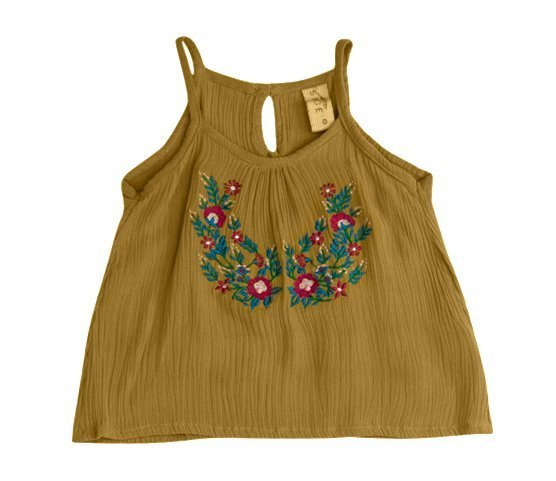 SageDesigns_GirlsSwingTop_SummerFiesta_Mustard