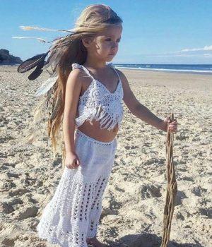 cinta child marwartie top white