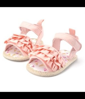 Ruffle Pink Shoes 2