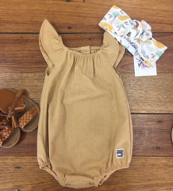 Scout Romper Old Gold