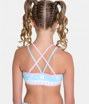 Stellar Crop Top Back