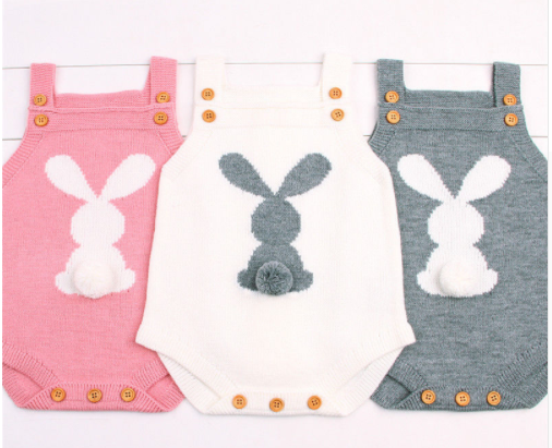 bunny rompers x 3 new