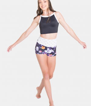 sylvia p Midnight-Bloom-Hight-Waisted-Short-Fun_preview