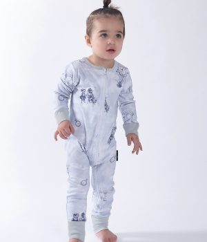 Aster & Oak Air Balloon 2 Way Zip Romper