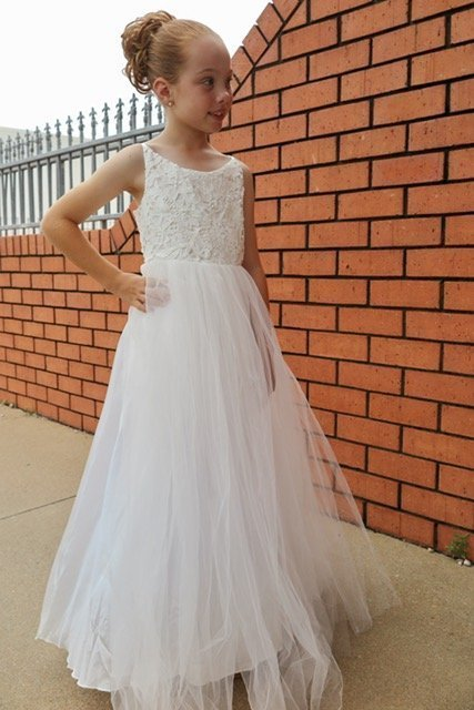 Confirmation Dress Isla Front1