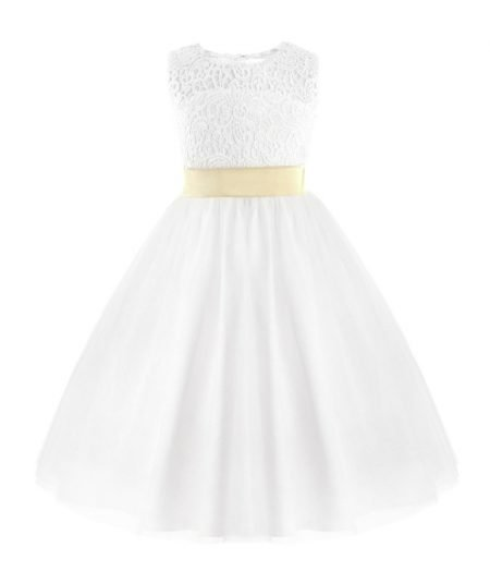 Confirmation Dress Willow Front
