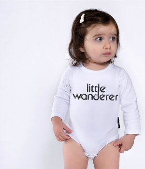 Little Wanderer LS Onesie