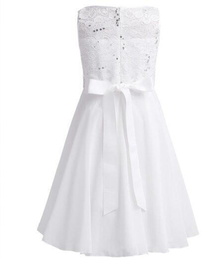 Confirmation Dress Alice Back