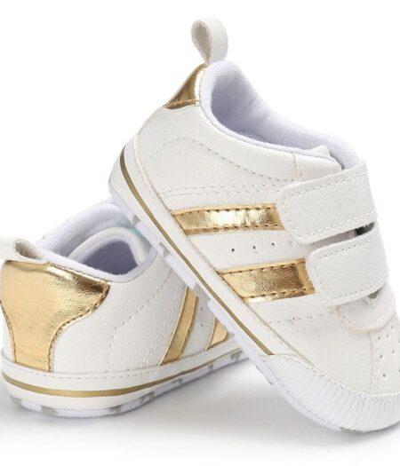 Gold Stripe Prewalker Joggers