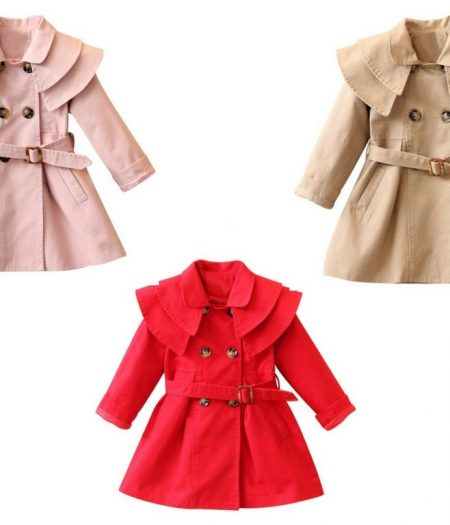 Trench Coat 3 Colours