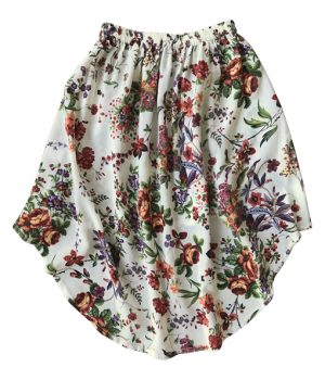 Billy Ray Skirt Vintage Ivory Floral 3