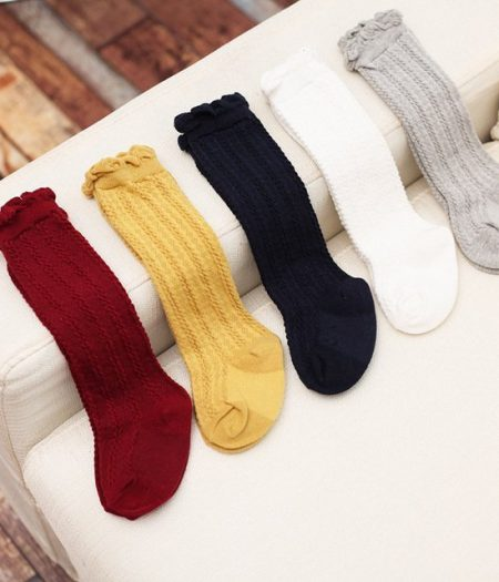 Socks Multi Plain Colour