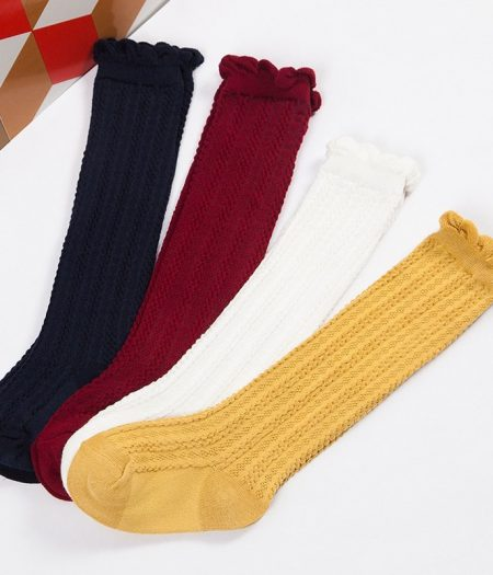 Socks Multi Plain Colour1