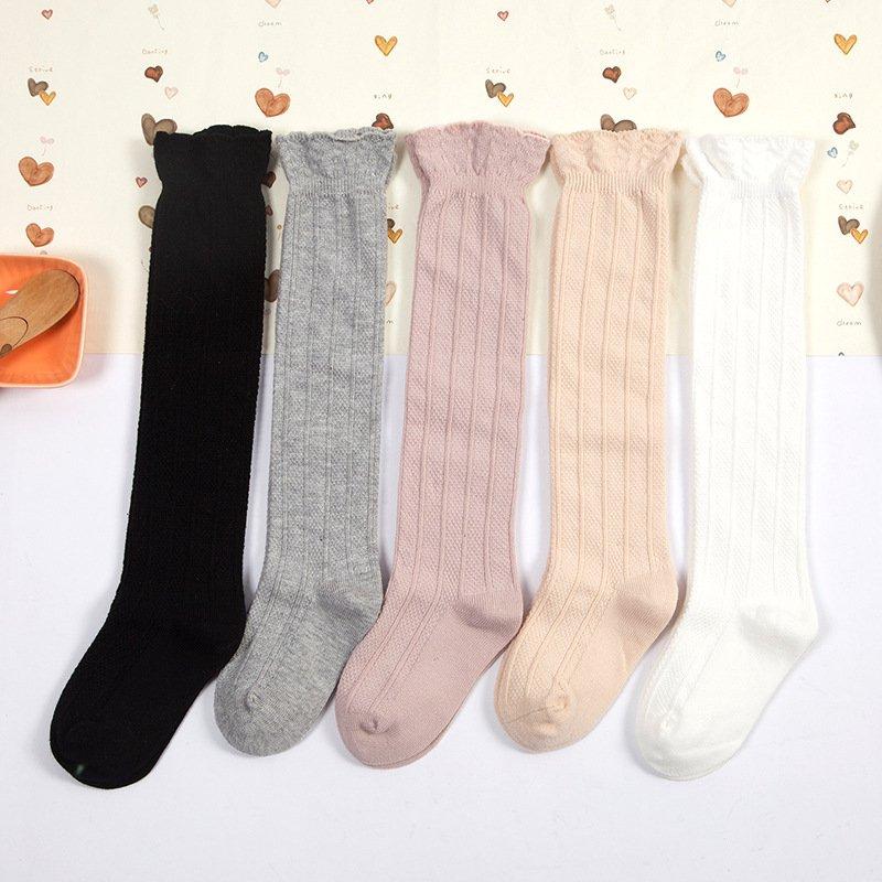 Socks Plain Colour Ribbed