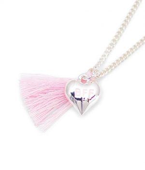 lauren hinkley pink bff necklace
