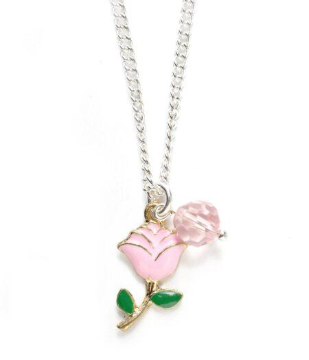lauren hinkley rose necklace