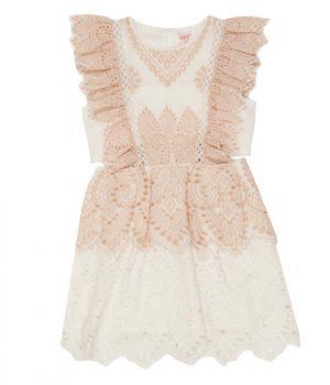 LUCILA COTTON DRESS front