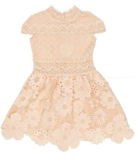 VALENTINA LACE DRESS front