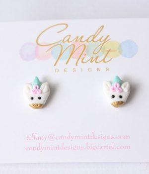 candy mint unicorns