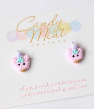candy mint unicorns pink
