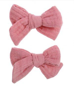 Bonnie & Harlo clips pink