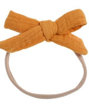 Bonnie & Harlo headband mustard