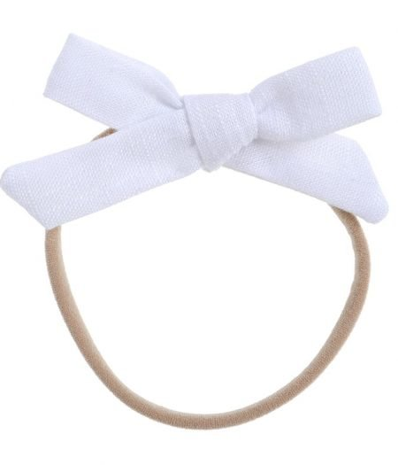 Bonnie & Harlo headband white