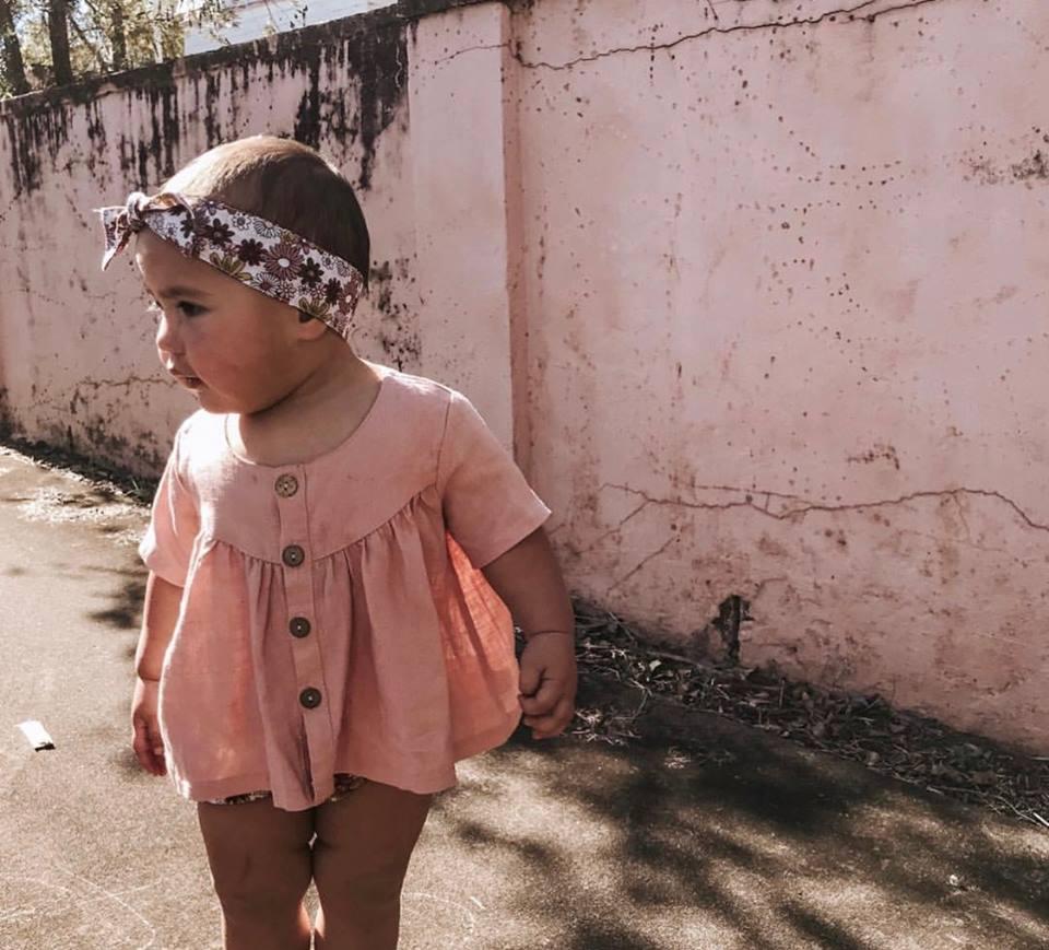 Bonnie & Harlo retro floral head wrap