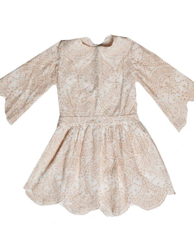 CLOSING SCENE DRESS blush front