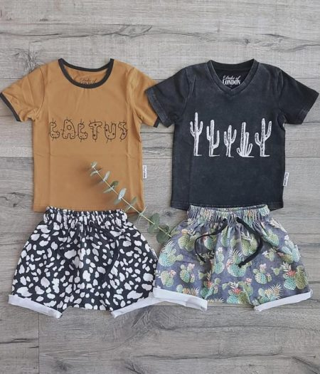 dol cactus tops and shorts