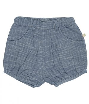 22 Woven Shorts Blue Chambray