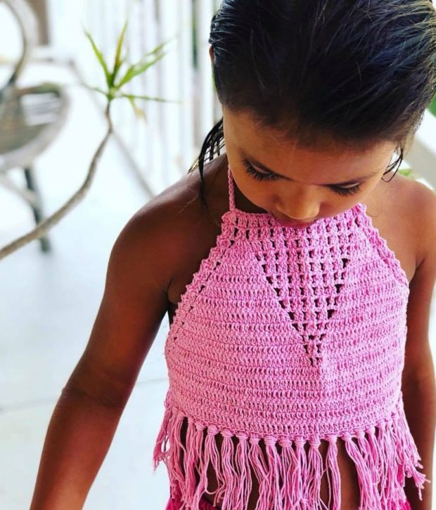 Tassel Top Pretty Pink