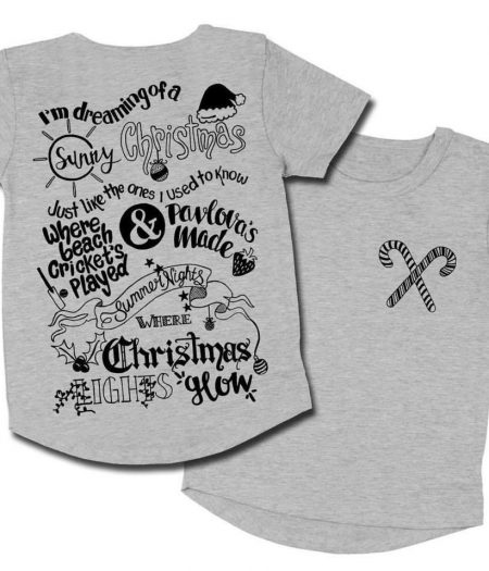 masonryer grey christmas tee