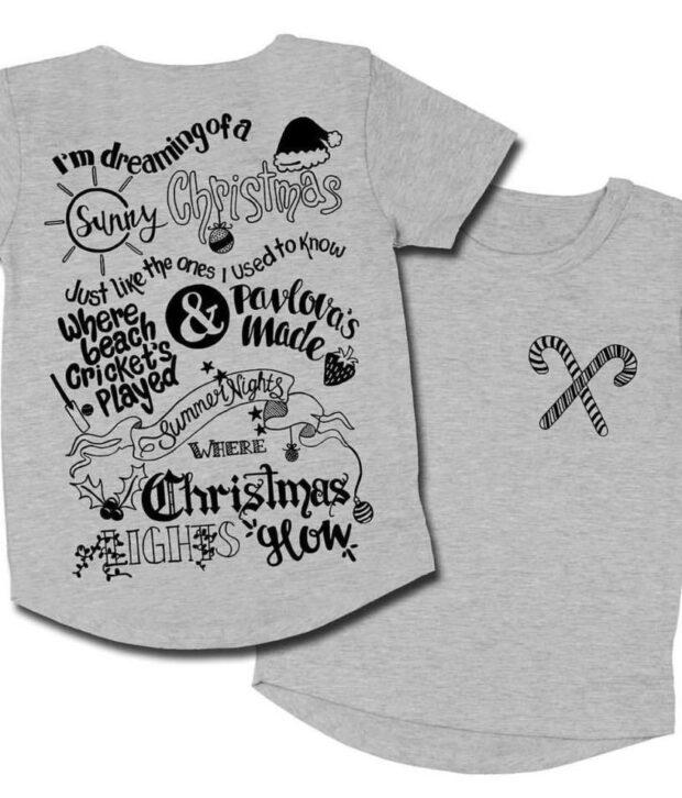 masonryer grey christmas tee