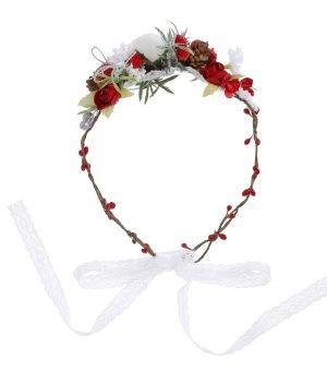 Christmas Flower Crown 1