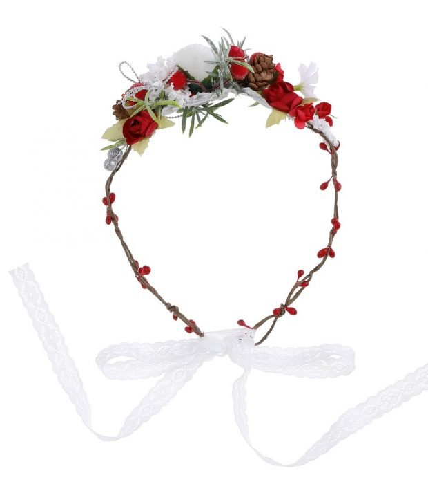 Christmas Flower Crown 1