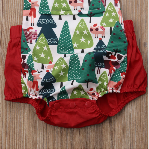 Christmas Trees Sunsuit1